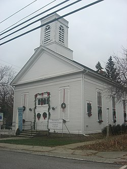 Church in Peninsula's downtown historic district