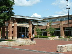Penn State's student union building, the HUB Robeson Center.