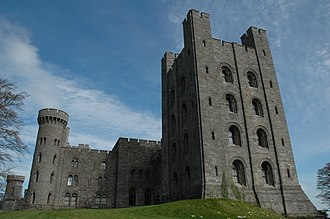 Thomas Hopper (architect) - Image: Penrhyn Castle