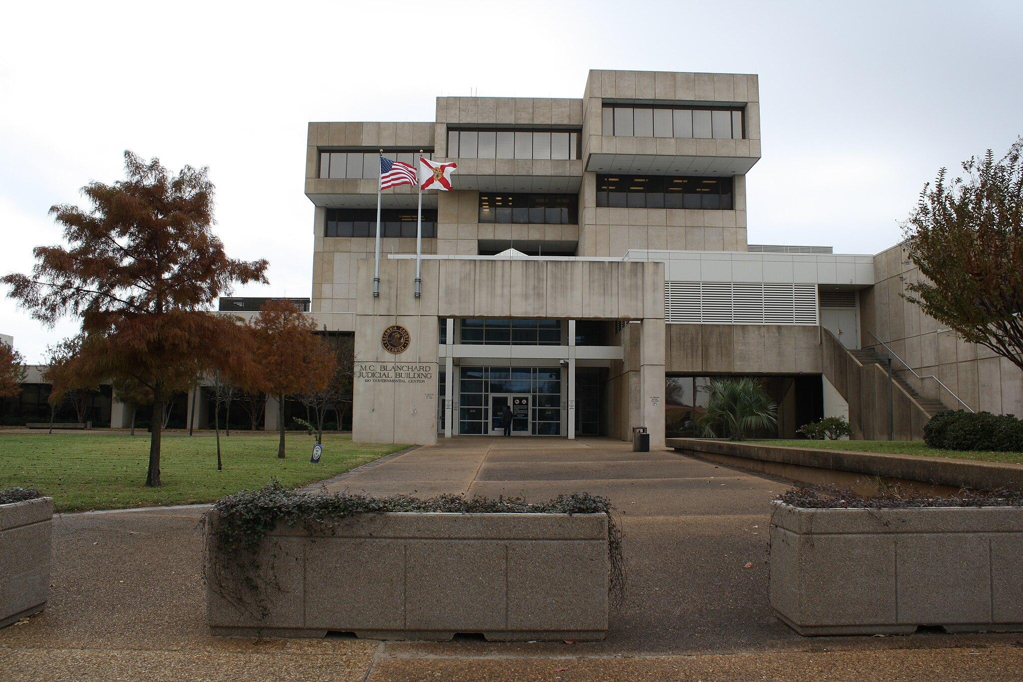 Pensacola, FL, Courthouse, Escambia County, 12-16-2010 (2)