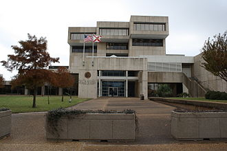 Escambia County, Florida - Image: Pensacola, FL, Courthouse, Escambia County, 12 16 2010 (2)
