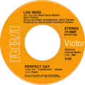 Perfect Day by Lou Reed (US single, double side-A).png