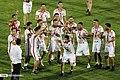 Persepolis F.C. celebrating after 2019–20 Persian Gulf Pro League trophy (40).jpg