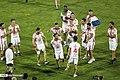 Persepolis F.C. celebrating after 2019–20 Persian Gulf Pro League trophy (41).jpg