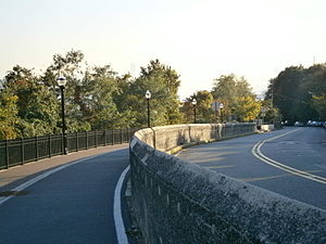 Pershing Road (Weehawken) - Image: Pershing Road near Boulevard East