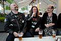 Petri Hiltunen, Toni Jerrman and Johanna Sinisalo at Archipelacon.JPG