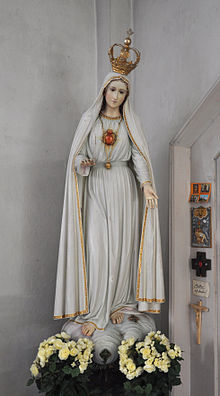 Our Lady of Fátima as described and personally approved by Sister