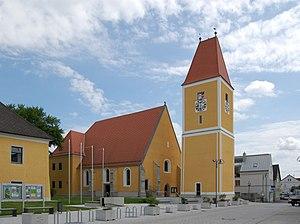 Feldkirchen an der Donau - Image: Pfarrkirche St. Michael (Feldkirchen an der Donau) 02
