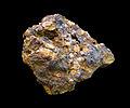 Phénacite dans la limonite (Grandfontaine)-Musée de minéralogie de Strasbourg.jpg