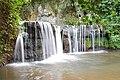 Piccole cascate vicino alla Rocca Respampani, VIterbo.jpg