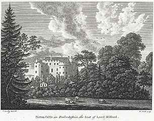 Picton Castle in Pembrokeshire: the seat of Lord Milford
