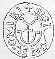 Pieczęć Gniewomira z XII w. (Gloger).jpg