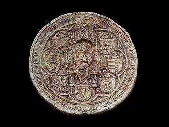 Władysław II Jagiełło - Royal seal of Władysław II Jagiełło