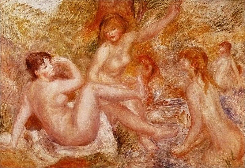 File:Pierre-Auguste Renoir - Les Grandes Baigneuses.jpg