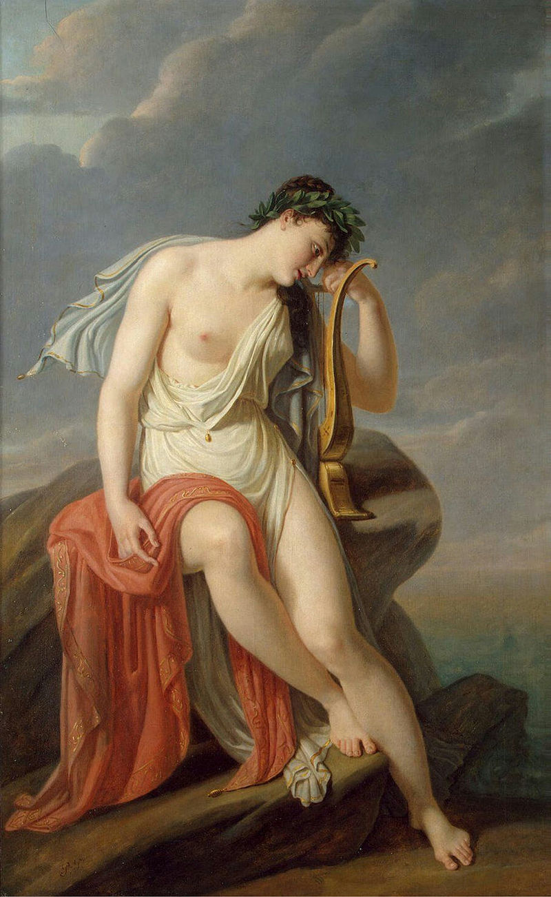 Pierre-Narcisse Guérin - Sappho on the Leucadian Cliff - WGA10969.jpg