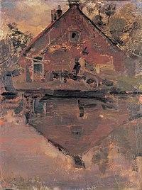 Piet Mondriaan - House on the Gein, 1741 - A244 - Piet Mondrian, catalogue raisonné.jpg