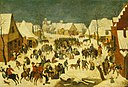 Pieter Brueghel the younger (1564-1565-1637-1638) - The Massacre of the Innocents (after Pieter Bruegel the elder) - 446750 - National Trust.jpg