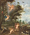 Pieter van Avont, Izaak van Oosten, Jan van Kessel (I) - The Four Elements - An Allegory of Air and Fire.jpg