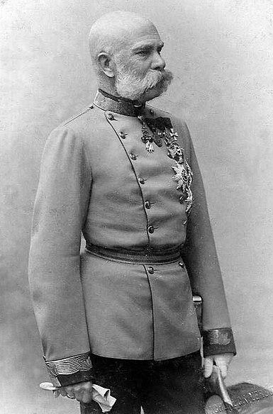 Pietzner, Carl (1853-1927) - Emperor Franz Josef I - ca 1885.jpg