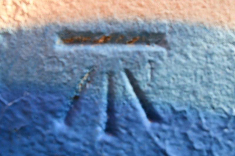 סימן מדידה מתקופת המנדט