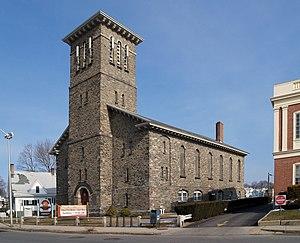 Pilgrim Congregational Church (Taunton, Massachusetts) - Image: Pilgrim Church Taunton