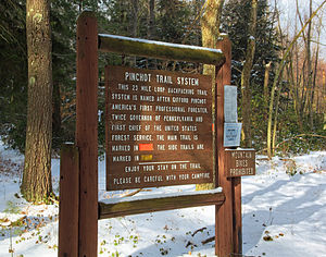 Pinchot Trail System - Image: Pinchot Trail (2)