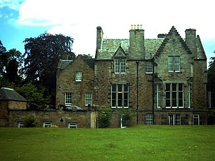 """Pittendreich House, Lasswade by <a href=""""http://search.lycos.com/web/?_z=0&q=%22David%20Bryce%22"""">David Bryce</a>"""