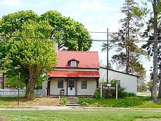 Marcus Hook, Pennsylvania - The Plank House