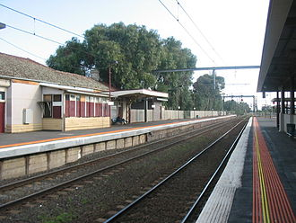 Werribee, Victoria - Werribee railway station