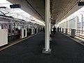 Platform of Kyudai-Gakkentoshi Station 9.jpg