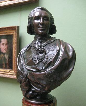Platon Zubov - Bronze bust by Fedot Shubin, 1795