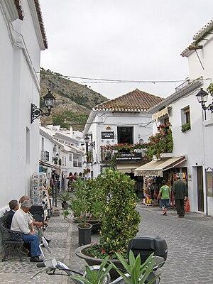 Mijas - Image: Plaza de la Libertad, Mijas 01