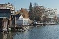 Poertschach Johannes-Brahms-Promenade Uferbauten und Parkhotel 14122015 2490.jpg