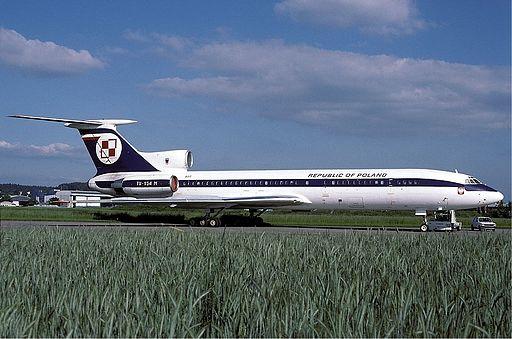 Polish Air Force Tupolev Tu-154M Wallner
