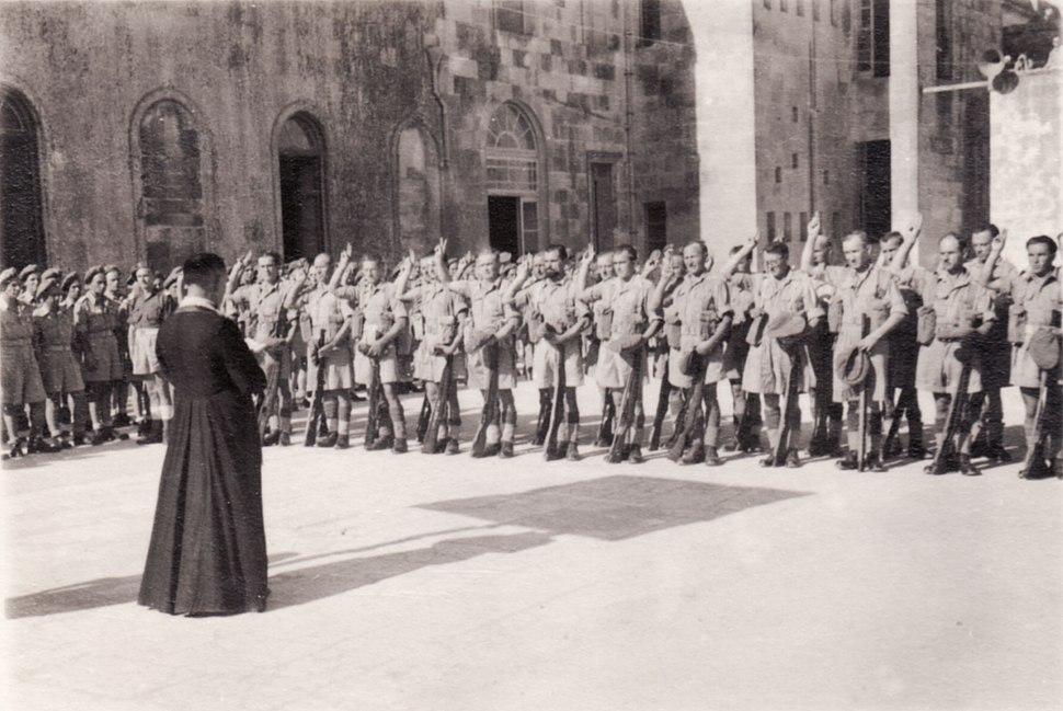 Polish II Corps (35) - 1946-05-16 - Józef Gawlina in Casarano