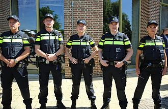 Law enforcement in the Netherlands - Police officers in uniform