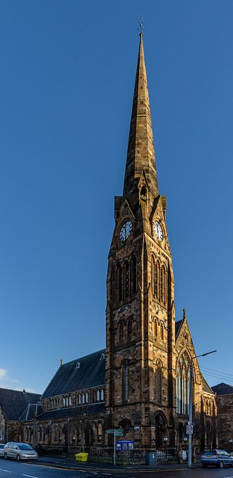 Pollokshields - Pollokshields Church of Scotland.