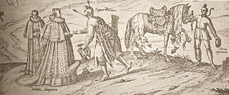 Pole and Hungarian cousins be - Georg Haufnagel, Polish Cavalryman and Hungarian Lady (17th century), Czartoryski Museum, Kraków