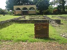 Rovine dell'insediamento originario di Caparra