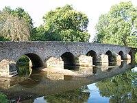 Pont Roman d'Yvré l'évêque.JPG