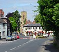 Pontesbury - Red Lion Inn and St Georges Church - geograph.org.uk - 411232.jpg