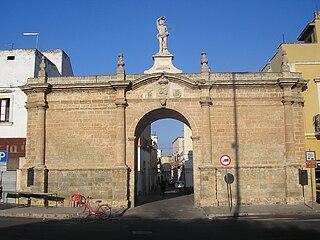 Galatone Comune in Apulia, Italy