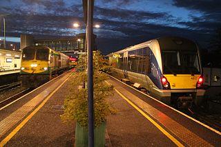 Portadown railway station Railway station in County Armagh, Northern Ireland
