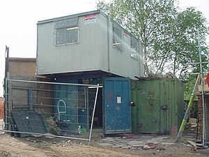 Portable building - Image: Portakabin mere 2