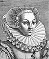 "Portrait from ""Variae comarum et bararum formae"", P. Galle Wellcome L0019794.jpg"