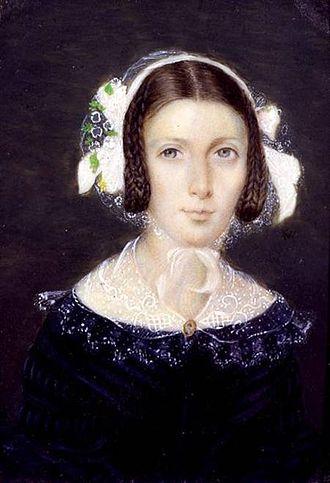 Fanny Brawne - Watercolour of Fanny Brawne, 1833.