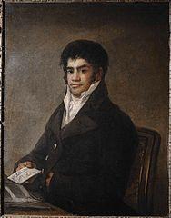 Portrait de Francisco del Mazo