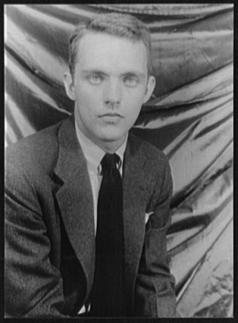Frederick Buechner photographed by Carl Van Vechten, 1950