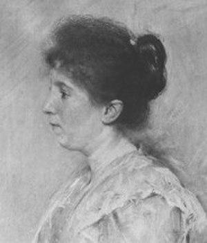 Juliette Wytsman - Juliette Wytsman portrayed by Lucien Wollès in 1897