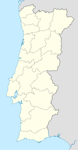 Setúbal na mapi Portugal